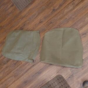 Seat Cover Kit Canvas Military Driver Side M35a2 M800 M813 M109 M939 Usa Made
