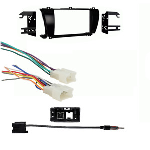 Car Radio Stereo Install Dash Kit For 2014 2015 Toyota Corolla Antenna harness