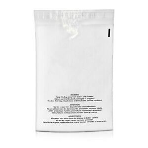 1000 12x15 5 Suffocation Warning Clear Plastic Self Seal Poly Bags 1 5 Mil