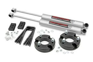 Rough Country 2 Leveling Lift Kit W n3 Shocks 2009 2018 Ford F 150 52230