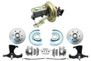1967 72 Chevy Gmc Truck C10 Front Disc Brake Conversion Kit 6 Lug Stock Height