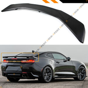 For 2016 2018 Chevrolet Camaro Lt Rs Ss Zl1 Style Big Trunk Lid Spoiler Wing