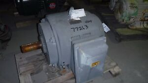 60 Hp Toshiba Electric Motor 1140 Rpm 404t Frame Dp 230 460 796 V Design D
