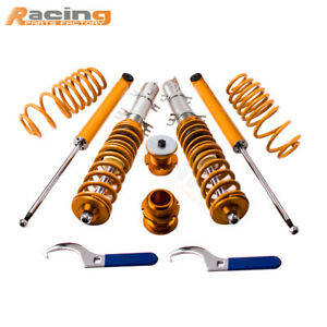 Coilovers Suspension Struts For Vw Volkswagen Golf Mk4 1 9 Tdi Fwd Shock 99 05