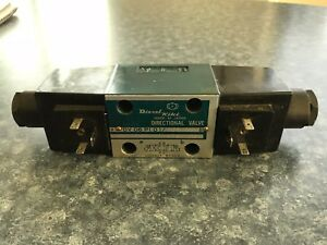 Diesel Kiki Hydraulic Directional Valve Dv06p101 10a 10 Used