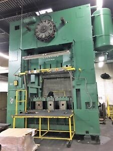 500 Ton Capacity Usi Clearing Straight Side Press For Sale