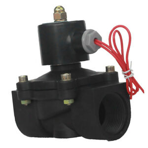Dc12v 1 1 4 Dc Plastic Electric Solenoid Valve For Air Water Gas Diesel