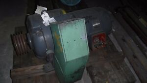 40 HP Eaton Variable Speed Electric Motor 100-1710 RPM Model 912 45 V Clutch