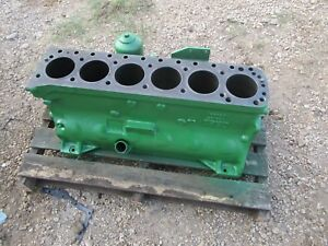 Oliver Tractor 1855 1950t 1955 Diesel 310 Engine Crankcase Very Very Nice