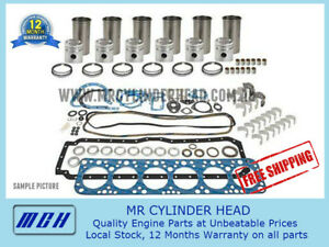 Full Engine Rebuild Kit For Nissan Patrol Gu Gq Td42 Diesel Sleeves 4 2l 6cyl