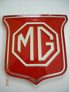Mg Mgb Grill Emblem Badge Mgb Years 73 74