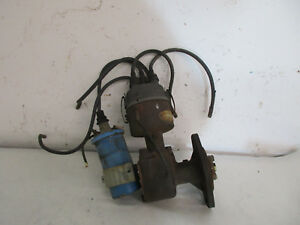 Allis Chalmers Wd Wd45 Tractor Original Distributor Changeover