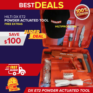Hilti Dx E72 Powder Actuated Tool Brand New Great Durable Fast Shipping