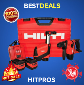 Hilti Te 6 a36 avr Cordless Hammer Drill W Drs 6 a Dust Collector Brand New