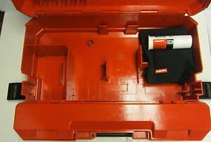 Hilti Te 22 case Only Mint Condition Strong Original Fast Shipping