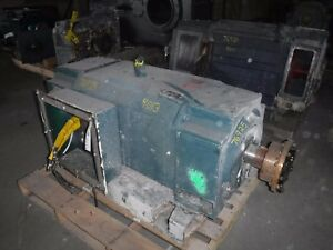 300 Hp Dc Baldor Reliance Electric Motor 1150 Rpm Lc4013atz Frame Dpfv 500 V