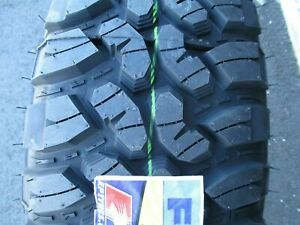 4 New 235 75r15 Inch Forceum Plus Mud Tires 2357515 M T Mt 235 75 15 75r R15