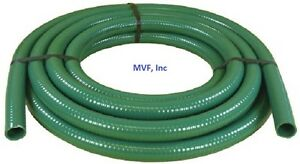 Suction Hose 2 I d 2 30 O d Green 85 Psi Rated 100 Ft Roll