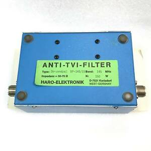 144 146mhz 150w So 239 2m Vhf Filter Bp 145 150
