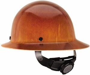 Msa 475407 Natural Tan Skullgard Hard Hat With Fastrac Suspension New No Tax