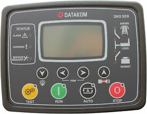 Datakom Dkg 329 Generator mains Automatic Transfer Switch Control Panel Ats_