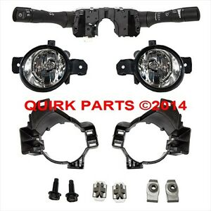 2010 2012 Nissan Altima Fog Light Switch Bracket Kit W O Auto Head Lamp Oe New