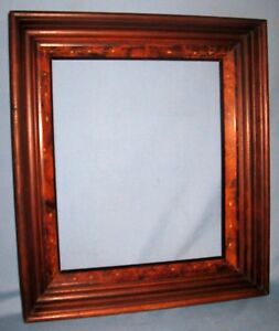 Antique Walnut East Lake Art Picture Portrait Frame Multiple Inserts Ca 1875