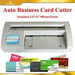 Full Bleed 3 5x2 0 Standard Business Name Card Paper Cutter Slitter 10ups