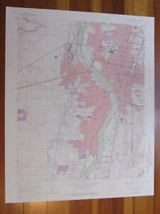 Albuquerque West New Mexico 1974 Original Vintage Usgs Topo Map