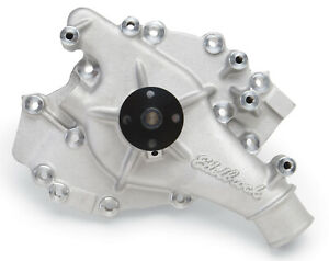 Edelbrock 8866 Victor Series Aluminum High Flow Water Pump 1970 92 Ford 429 460