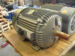 30 Hp Baldor Electric Motor 1200 Rpm 324t 326t Frame Tefc 460 V New