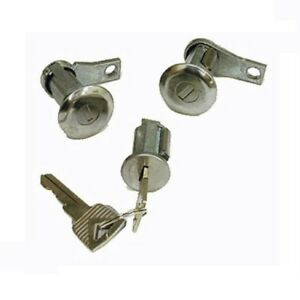 Door Ignition Lock Set For 1966 1968 Ford Bronco Free 1 3 Day Shipping