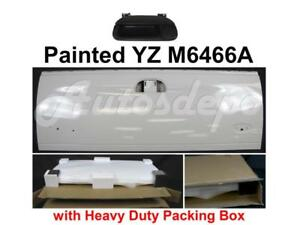 Painted Yz M6466a Tailgate Black Handle W o Hole For 1997 2007 Ford F250 F350