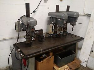 Delta Rockwell 3 Head Spindle Multi Drill Press Station