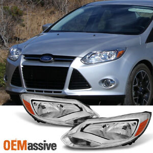Fit 2012 2014 Ford Focus Headlights Headlamp Assembly Light right Light 12 13 14