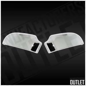 00 05 Chevy S10 Blazer Gmc Sonoma Jimmy Chrome Side Rear View Mirror Cover