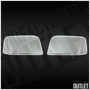 2006 2010 Ford Explorer Ranger Chrome Side Rear View Top Half Mirror Cover