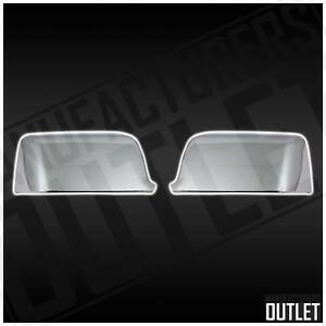 2006 2010 Ford Explorer Sport Trac Chrome Side Rear View Mirror Cover