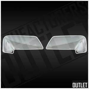 2007 2017 Ford Expedition Lincoln Navigator Chrome Side Rear View Mirror Cover