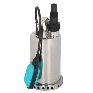 1hp 3000 Gph Drain Steel Submersible Pump 750w Dirty Clean Water Sump Pump Pool