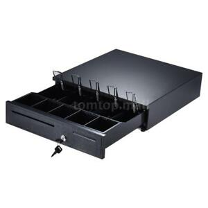405 Cash Register Drawer Box 5 Bill 5 Coin Tray Compatible Works With Pos Rj11