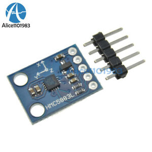 5pcs Hmc5883l Triple Axis Compass Magnetometer Sensor Module For Arduino 3v 5v