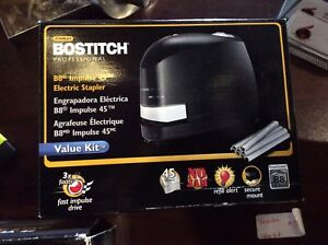 Stanley Bostitch Professional B8 Impulse 45 Electric Stapler Value Kit