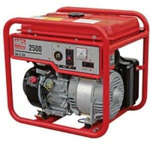 Multiquip s Ga25h Portable Generators 2 5kw 120v Honda Gx160 Recoil Start