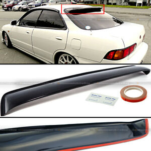 For 94 01 Acura Integra 4dr Sedan Jdm Rear Window Roof Vent Visor Spoiler Wing