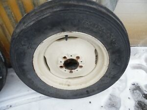 1958 Allis Chalmers D14 Gas Tractor 6 00x16 Front Tire Wheel