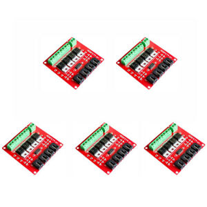 5pcs 4 Channel Mosfet Switch Module V2 0 Mosfet Button Irf540 For Arduino