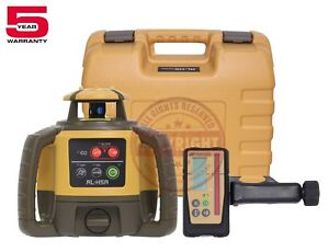 Topcon Rl h5a Rechargeable Self leveling Rotary Grade Laser Level slope Rb
