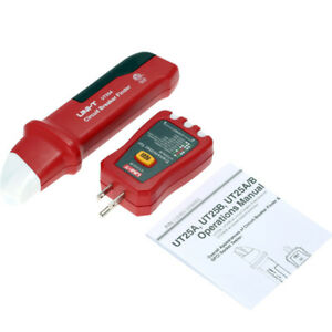 Uni t Ut25a Professional Automatic Circuit Breaker Finder Socket Tester Electric