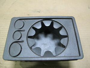 1999 2002 Saab 93 9 3 Center Console Cup Holder Coin Holder Oem 4708459